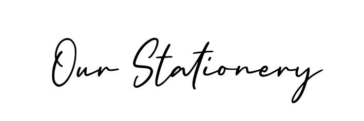 Heading-Stationery